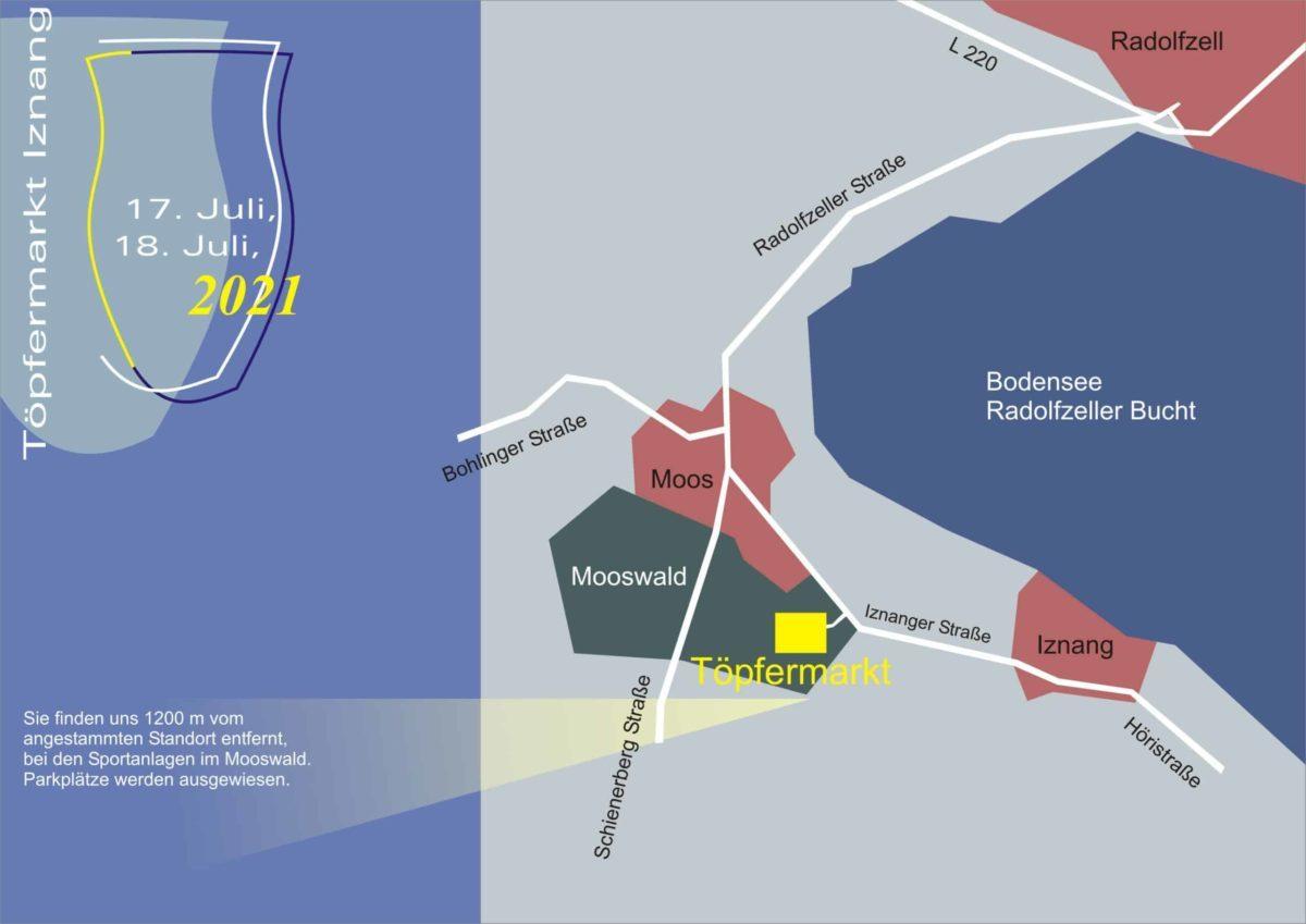 Lageplan Mooswald